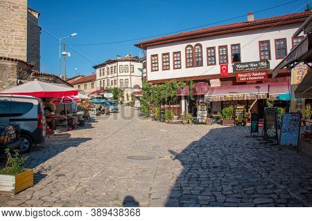 Safranbolu / Turkey 3 October 2020 Safranbolu Streets And Beautiful Houses. Protected By The Unesco
