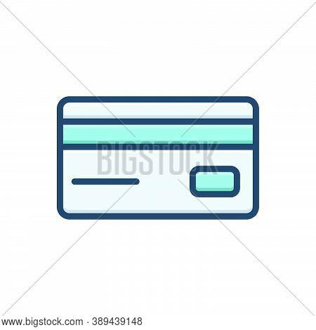 Color Illustration Icon For Card Debit-card Payment-protection Payment Protection Card Padlock Depos