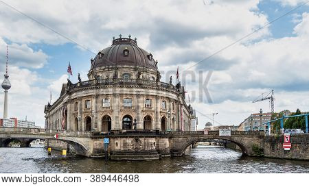 The Bode Museum Facade On The Museum Island In Berlin, Germany In Europe
