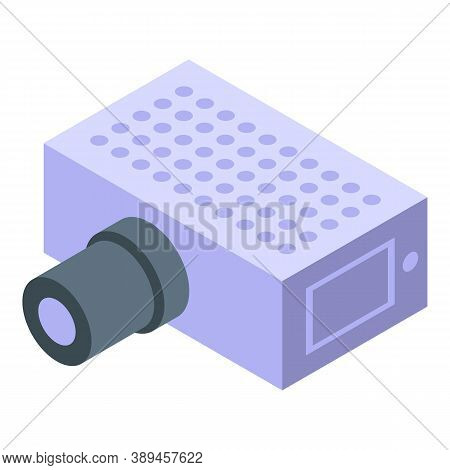 Voltage Regulator Component Icon. Isometric Of Voltage Regulator Component Vector Icon For Web Desig