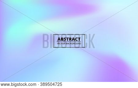 Pastel Gradient Colorful Background. Blue, Violet And Pink Pastel Liquid Background. Abstract Hand P