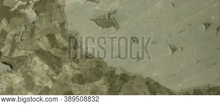 Khaki Texture Background. Watercolour Camouflage Material. Olive Combat Pattern. Abstract Woodland S