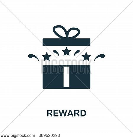 Reward Icon. Simple Element From Loyalty Program Collection. Filled Reward Icon For Templates, Infog