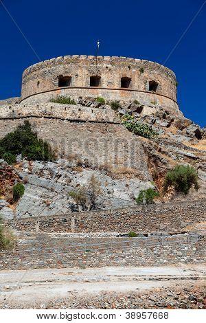 The Island-fortress Of Spinalonga.