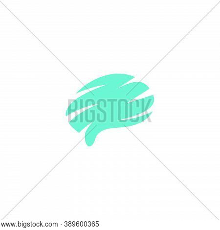 Brain Logo Silhouette Design Vector Template. Think Idea Concept.brain Storm Power Thinking Brain Lo