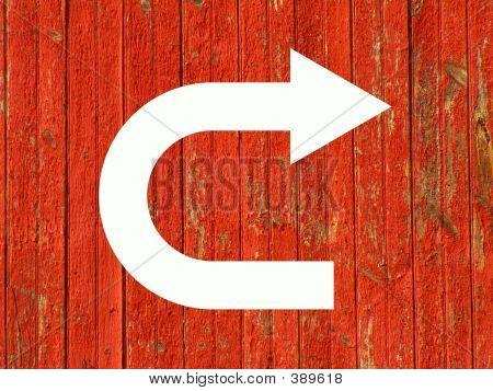 U Turn Symbol