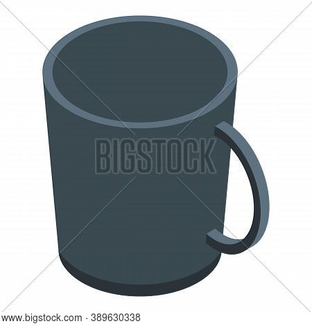 Espresso Mug Icon. Isometric Of Espresso Mug Vector Icon For Web Design Isolated On White Background