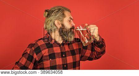 Having Fun. Alcohol Beverage. Beer Pub. Bartender Bar. Refresh Your Spirit. Modern Hipster Getting D