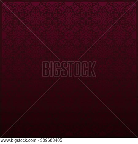 Violet Abstract Textured Pattern Geometric Background. Vector Illustration
