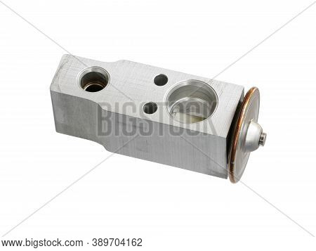 Cooler Expansion Valve (with Clipping Path) Isolated On White Background