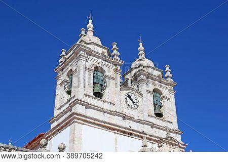 Church Of Nossa Senhora Da Nazare, Sitio, Portugal