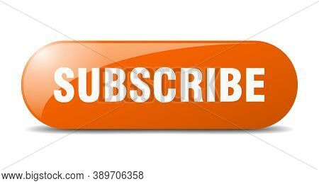 Subscribe Button. Subscribe Sign. Key. Push Button.