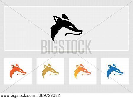 Stylised Pet Logo Design. Dog Logo Design Vector Design Creative Minimal, And Modern Trendy