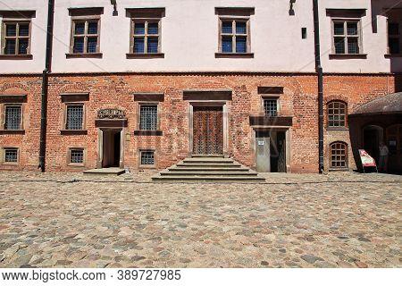 Mir, Belarus - 11 Jun 2015. Mir Castle In Belarus Country