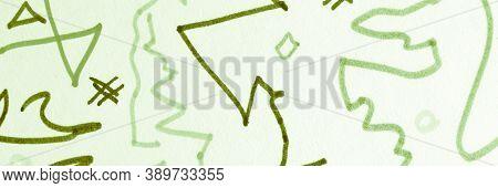 Mark Scribbles Design. Romantic Distress Texture. Handmade Doodles. Grit Brush Stroke. Orange Grunge