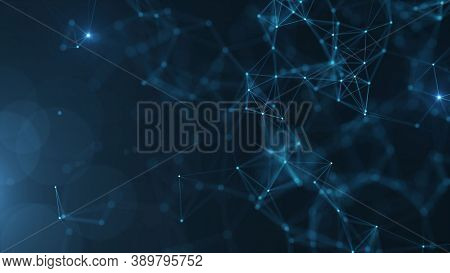 Technology Background. Modern Technology Background Design Concept. Modern Futuristic And Blue Hi Te