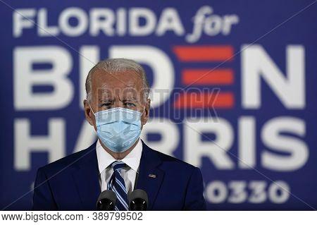 10/14/2020,usa:us Democratic Presidential Candidate Joe Biden Has Criticised Donald Trump's Handling