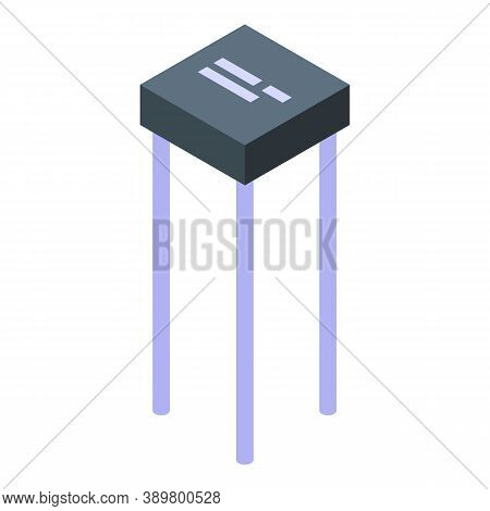 Diode Icon. Isometric Of Diode Vector Icon For Web Design Isolated On White Background