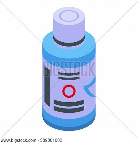 Care Mouthwash Icon. Isometric Of Care Mouthwash Vector Icon For Web Design Isolated On White Backgr