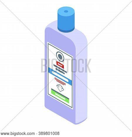 Medical Mouthwash Icon. Isometric Of Medical Mouthwash Vector Icon For Web Design Isolated On White