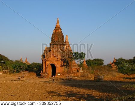 Ruins Of The Ancient Pagoda, Bagan, Myanmar