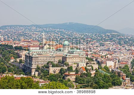 Budapest Castle Hill and Castle