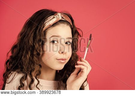 Cutie. Beauty Portrait Of Child With Natural Make Up And Healthy Skin. Happy Childrens Day. Fashion