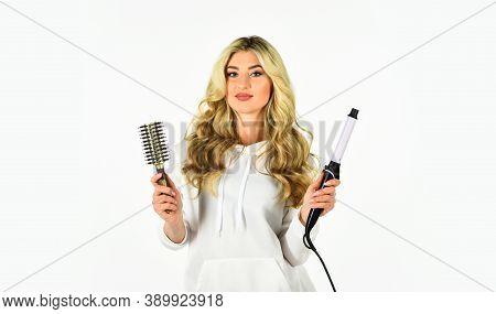 You Wear It Everyday. Women Beautiful Curly Hair. Hairstyle With Curly Hair. Curly Hair. Using Curli