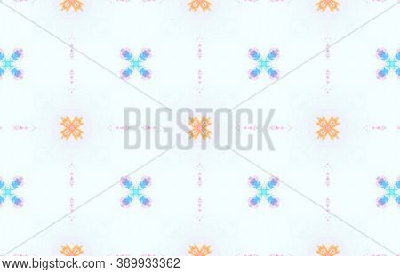 Water Color Textile Texture. Watercolor Painted Material Design. Colorful Summer Background. Tie Dye