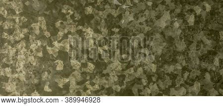 Khaki Texture Background. Watercolour Camo Material. Green War Pattern. Graphic Woodland Shirt. Dark