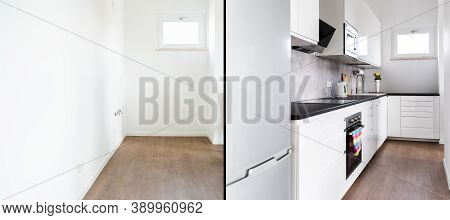 Home Kitchen Interior Remodel Before And After
