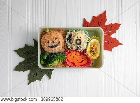 Halloween Teme Lunch Bento Box For Kids