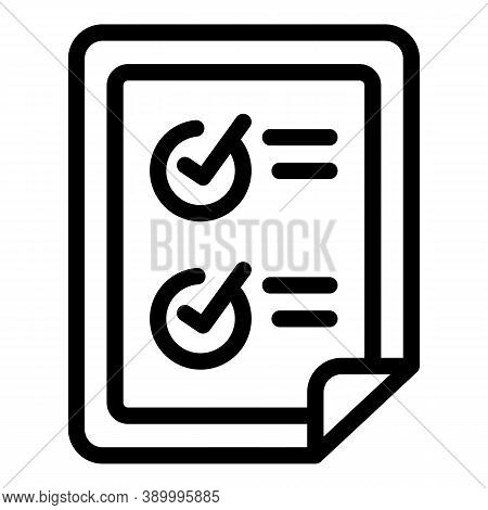Subscription Points Icon. Outline Subscription Points Vector Icon For Web Design Isolated On White B