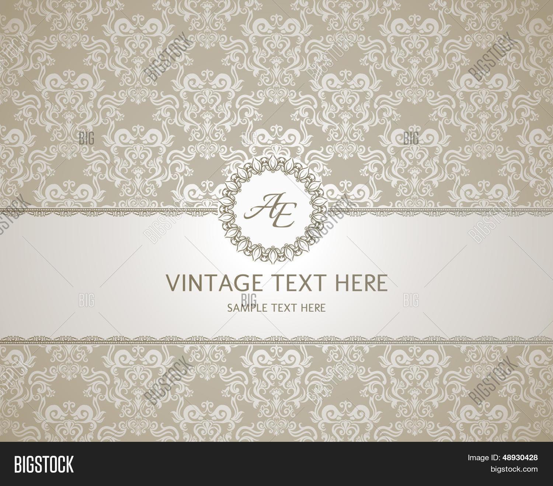 Vector y foto Marco Vintage Sobre (prueba gratis) | Bigstock