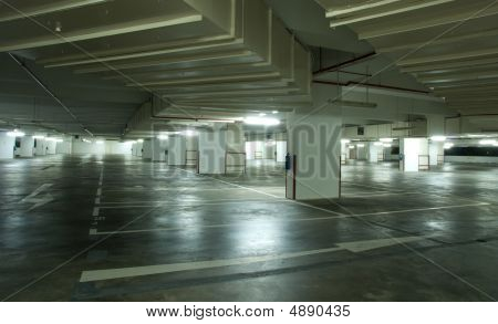 Underground Carpark Interior