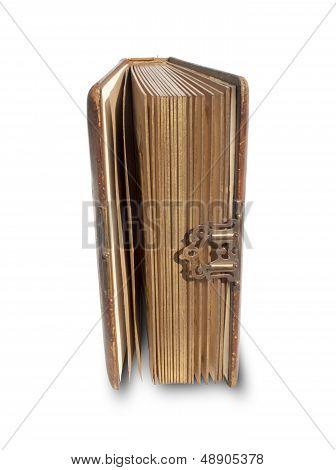 Antique Leather Bound Book