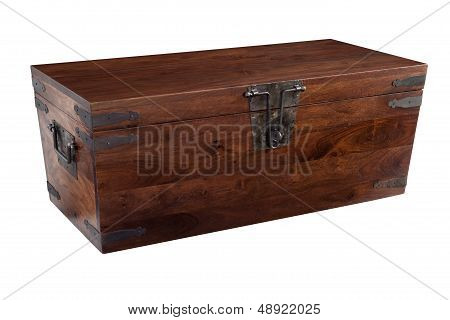 Wooden Chest Closed