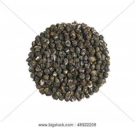 Jasmine Dragon Pearl Flower Tea Pile