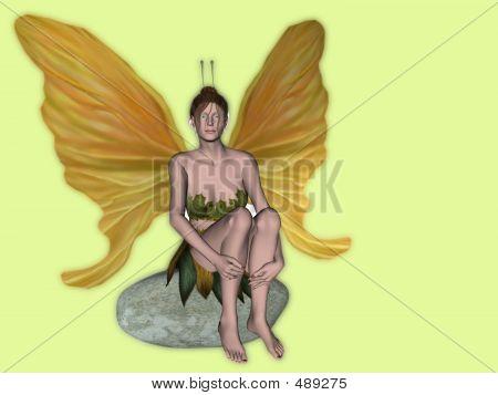 Fairy On Stone2