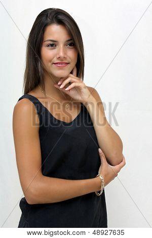 20 year old female brunette