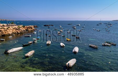Boats at Malta Bay