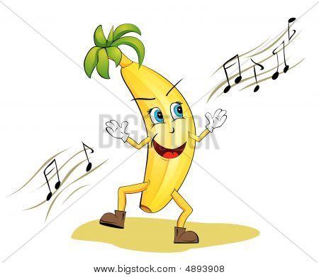 Funny Dancing Banana