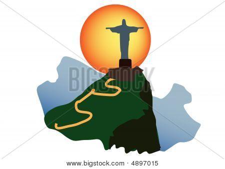 Christ The Redeemer Corcavado Mountain , Rio De Janeiro