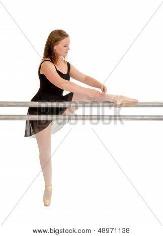 Balleriana At The Dance Barre