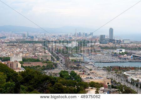 Barcelona City. Spain.