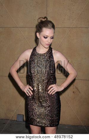 LOS ANGELES - AUG 5:  Amanda Seyfried arrives at the