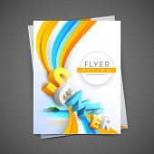 Professional business flyer template, corporate brochure or cover design, can be use for publishing, print and presentation.  poster