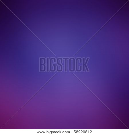 Smooth abstract colorful gradient background, dark blue and violet tones poster