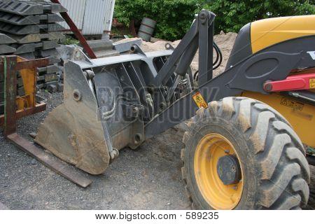 Bulldozer Tyre
