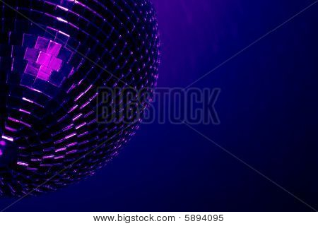 Disco Ball Blue - Purple